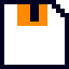 amiga workbench - floppy disc icon