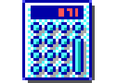 geoworks ensemble 2 - calculator icon