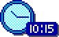 geoworks ensemble 2 - clock icon