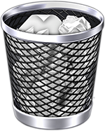 mac os x - bin full icon