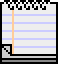 macintosh system 7 - write icon