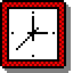 windows 3 - clock icon